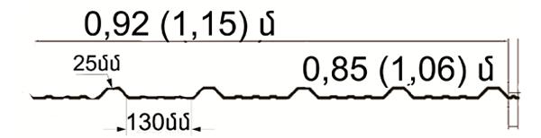 0,92 1,15 metr titex-sec