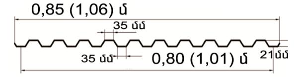 cherepica 1,01 metr-sec