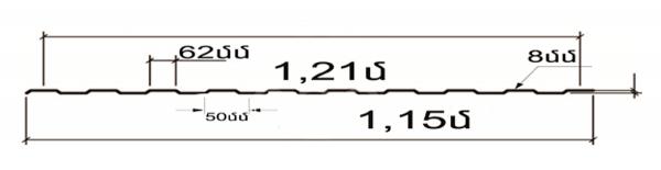 cack 1,15 metr